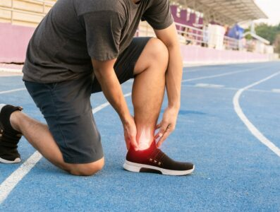 Ankle Injury During Sports